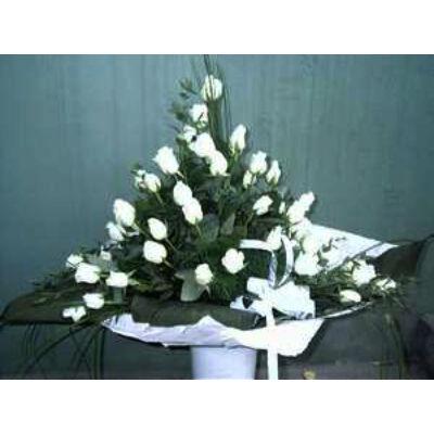 Fehér zongora - Rózsacsokor 03