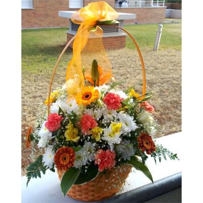 Születésnapra - Virágkosár