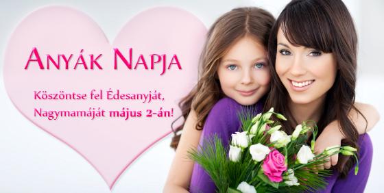 Virágküldés Anyák napjára - Országosan küldhető virágdobozok - Ajándék desszerttel